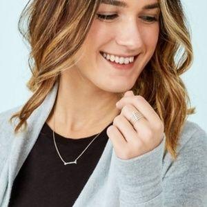 Stella & Dot Jewelry - On the Mark Necklace by Stella & Dot Silver